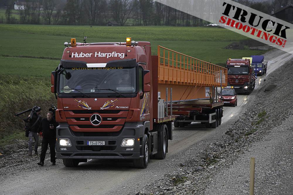 Huber Harpfing Schwertransport