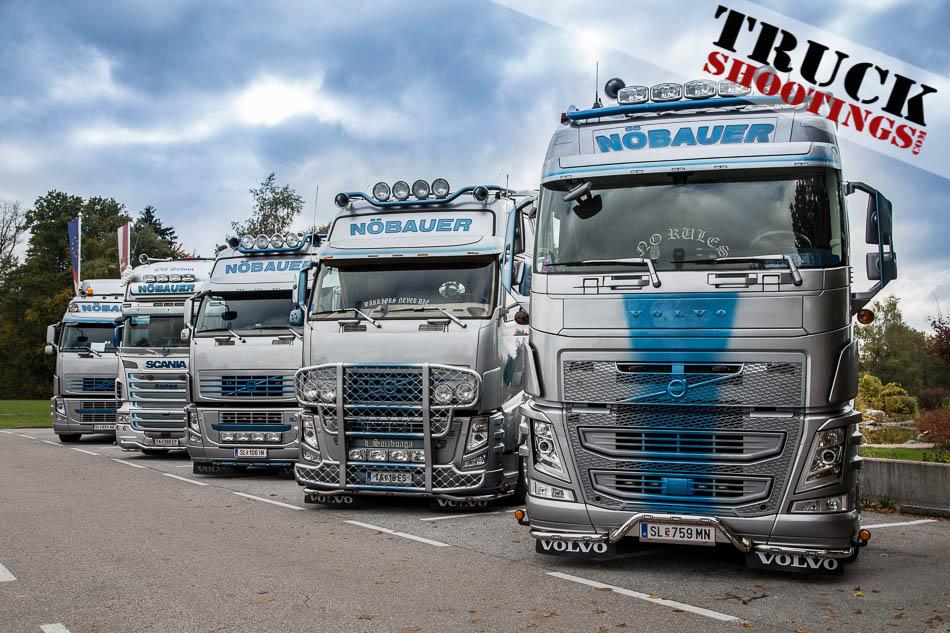 Scania Volvo Alfred Thomas Nöbauer Salzburg Transporte