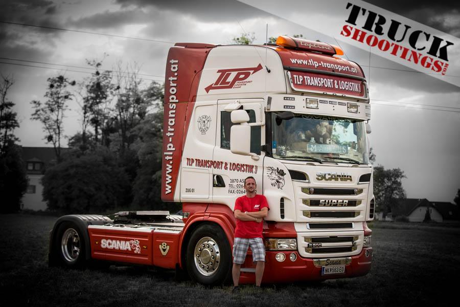TLP Transporte und Logostik Scania beim Truckertreffen in Blindenmarkt