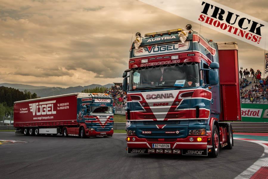 Vögel Show Trucks Spielberg 2015