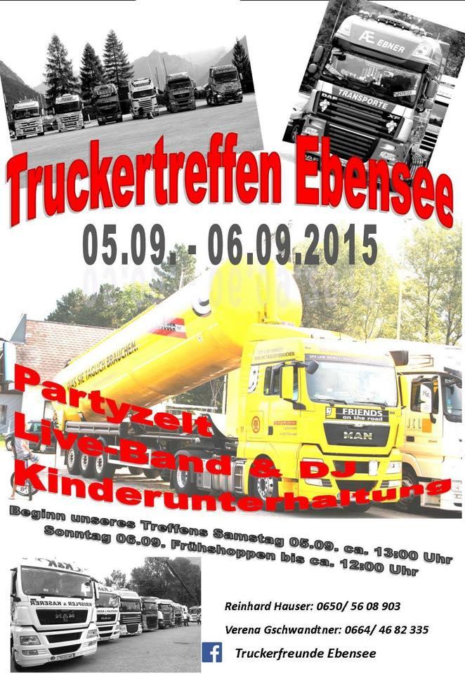 Trucker-Treffen Ebensee 2015