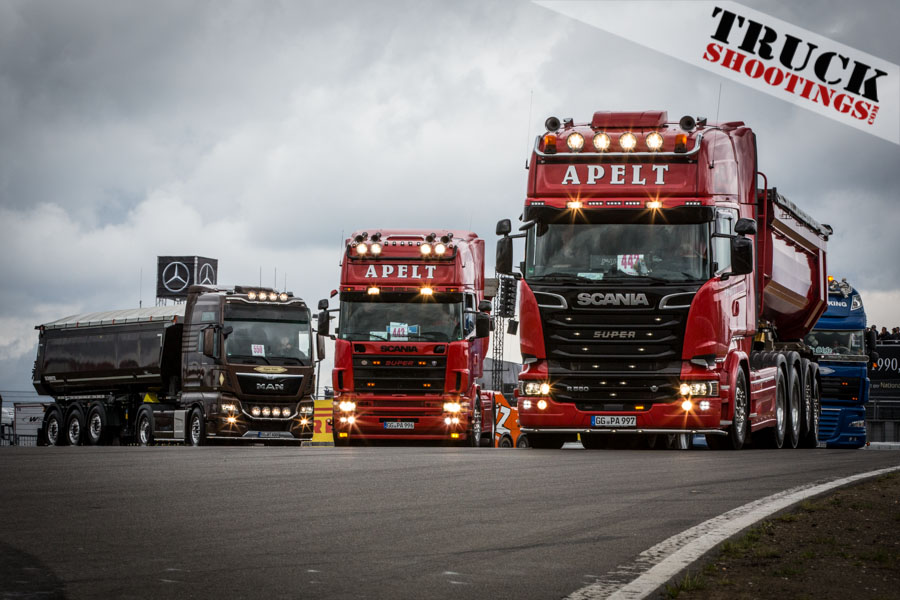 Truck Korso Nürburgring