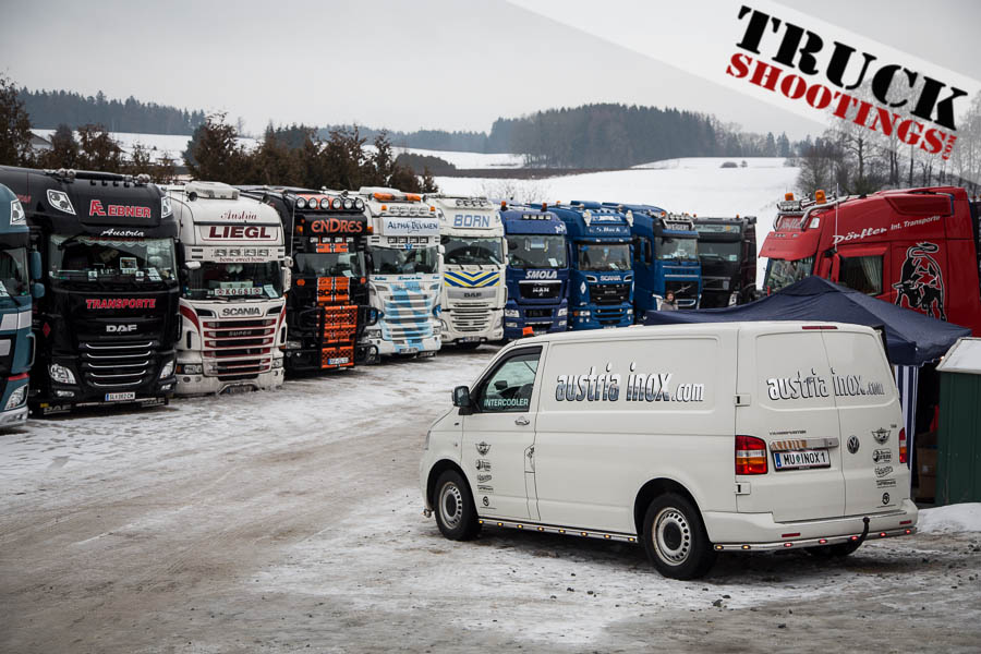 Winter Trucker Treffen bei Felixberger Transporte